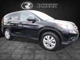 2013 Crystal Black Pearl Honda CR-V EX AWD #112550811