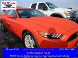 2016 Competition Orange Ford Mustang V6 Coupe #112550773