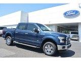 2016 Blue Jeans Ford F150 XLT SuperCrew 4x4 #112550841