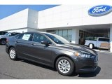 2016 Magnetic Metallic Ford Fusion S #112550840