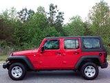 2016 Firecracker Red Jeep Wrangler Unlimited Sport 4x4 #112582721