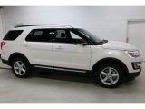 2016 White Platinum Metallic Tri-Coat Ford Explorer XLT 4WD #112582681