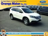 2013 White Diamond Pearl Honda CR-V LX AWD #112608903