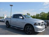2014 Bright Silver Metallic Ram 1500 Sport Crew Cab 4x4 #112608856