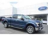 2016 Blue Jeans Ford F150 XLT SuperCab 4x4 #112608849