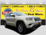2014 Cashmere Pearl Jeep Grand Cherokee Limited 4x4 #112608745