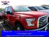 2016 Race Red Ford F150 XLT SuperCrew 4x4 #112608782