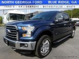 2016 Blue Jeans Ford F150 XLT SuperCrew 4x4 #112608698