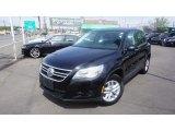 2011 Deep Black Metallic Volkswagen Tiguan S 4Motion #112608907
