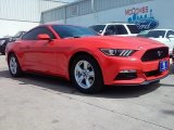 2016 Competition Orange Ford Mustang V6 Coupe #112632704