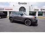 2016 Granite Crystal Metallic Jeep Renegade Sport #112632930