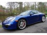 2013 Porsche 911 Aqua Blue Metallic