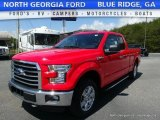 2016 Race Red Ford F150 XLT SuperCab 4x4 #112632580