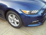 2016 Deep Impact Blue Metallic Ford Mustang V6 Coupe #112632716