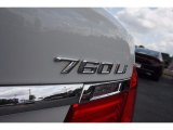 BMW 7 Series 2010 Badges and Logos