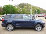 2016 Blue Jeans Metallic Ford Explorer Limited 4WD #112684910