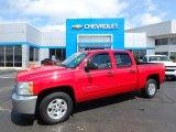 2013 Victory Red Chevrolet Silverado 1500 LT Crew Cab #112694759