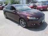 2013 Bordeaux Reserve Red Metallic Ford Fusion Titanium #112694697