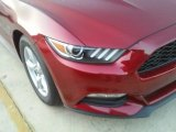 2016 Ruby Red Metallic Ford Mustang V6 Coupe #112694693
