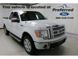 2010 Oxford White Ford F150 Lariat SuperCab 4x4 #112694428