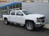 2016 Summit White Chevrolet Silverado 1500 LT Crew Cab 4x4 #112694669