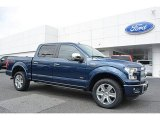 2016 Blue Jeans Ford F150 Platinum SuperCrew 4x4 #112721730