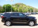 2016 Shadow Black Ford Explorer XLT 4WD #112721701