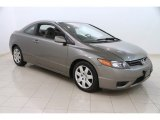 2006 Galaxy Gray Metallic Honda Civic LX Coupe #112746210