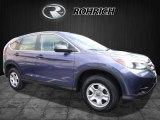2014 Twilight Blue Metallic Honda CR-V LX AWD #112745993