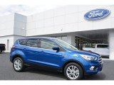2017 Lightning Blue Ford Escape SE #112746042