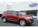 2016 Ruby Red Metallic Tri-Coat Ford Explorer XLT 4WD #112746041
