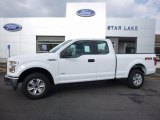 2016 Oxford White Ford F150 XLT SuperCab 4x4 #112746251