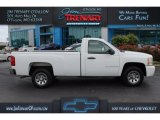 2008 Summit White Chevrolet Silverado 1500 Work Truck Regular Cab #112745905