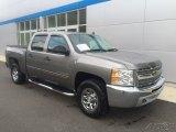 2013 Graystone Metallic Chevrolet Silverado 1500 LS Crew Cab 4x4 #112745897