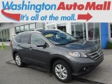 2014 Polished Metal Metallic Honda CR-V EX-L AWD #112746005