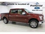 2016 Bronze Fire Ford F150 XLT SuperCrew 4x4 #112745741