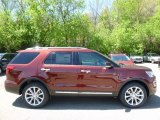 2016 Bronze Fire Metallic Ford Explorer Limited 4WD #112772769