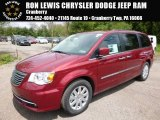2016 Deep Cherry Red Crystal Pearl Chrysler Town & Country Touring #112772791