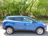 2017 Lightning Blue Ford Escape SE 4WD #112772772