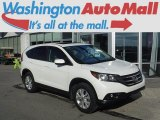 2014 White Diamond Pearl Honda CR-V EX AWD #112800834