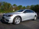 2016 Silver Ice Metallic Chevrolet Malibu LS #112800965