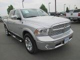2014 Bright Silver Metallic Ram 1500 Laramie Crew Cab 4x4 #112801069