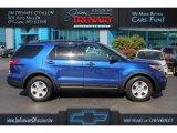 2013 Deep Impact Blue Metallic Ford Explorer FWD #112832727
