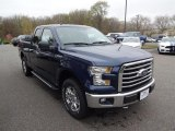 2016 Blue Jeans Ford F150 XLT SuperCab 4x4 #112832820