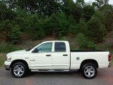 2008 Cool Vanilla White Dodge Ram 1500 SLT Quad Cab 4x4 #112842088