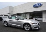 2016 Ingot Silver Metallic Ford Mustang V6 Coupe #112842235