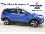 2017 Lightning Blue Ford Escape SE 4WD #112842003