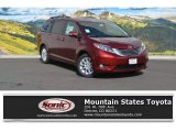 2016 Salsa Red Pearl Toyota Sienna Limited AWD #112862896