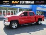 2016 Red Hot Chevrolet Silverado 1500 LT Crew Cab 4x4 #112863056