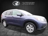 2013 Twilight Blue Metallic Honda CR-V EX-L AWD #112863050